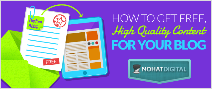 How-To-Get-Free-High-Quality-Content-For-Your-Blog-POST-illustration