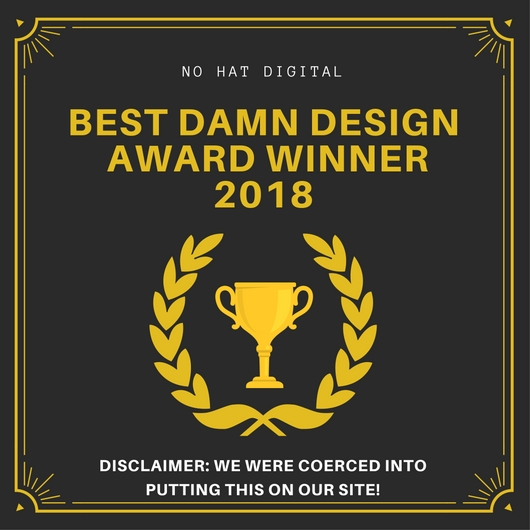 Best Damn Design Award