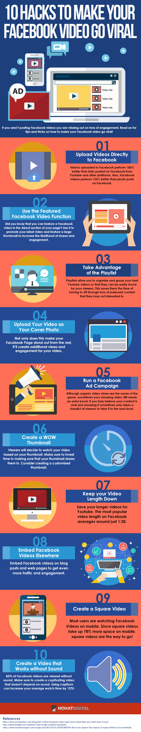 10 Hacks to Make Your Facebook Video Go Viral